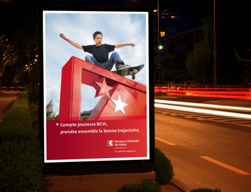 Banque Cantonale du Valais BCVs – campagne produits