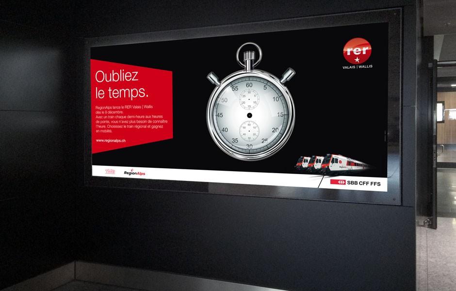 RER_Region_alps_regionalps_valais_wallis_affiche_oubliez_temps_2_sion_sierre_martigny_Valais_eddy_pelfini_graphic_design_graphisme_graphiste_agence_de_publicite_communication_visuelle