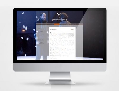 Agence de Concerts.ch – site internet