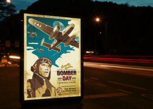 bomber_day_affiche_1_sion_sierre_martigny_Valais_eddy_pelfini_graphic_design_graphisme_graphiste_agence_de_publicite_communication_visuelle