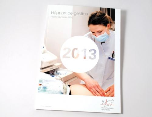Hôpital du Valais – rapport annuel 2013
