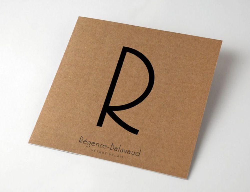 La Régence Balavaud – brochure