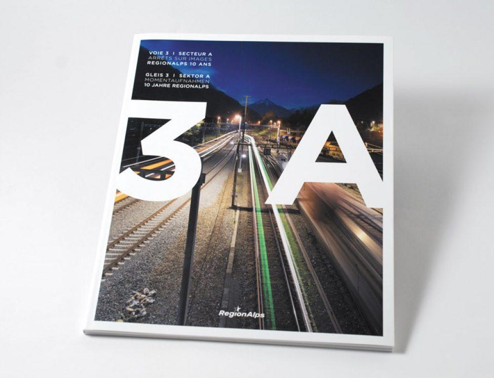 Region Alps – livre 3A – voie 3 secteur A