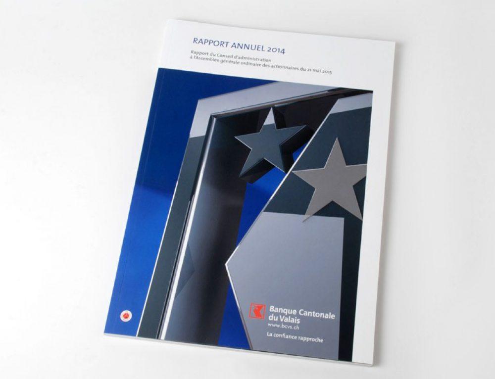 Banque Cantonale du Valais BCVs – rapport annuel 2014
