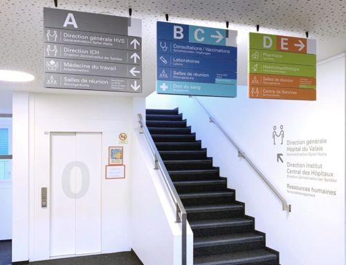 Hôpital du Valais – Signalétique