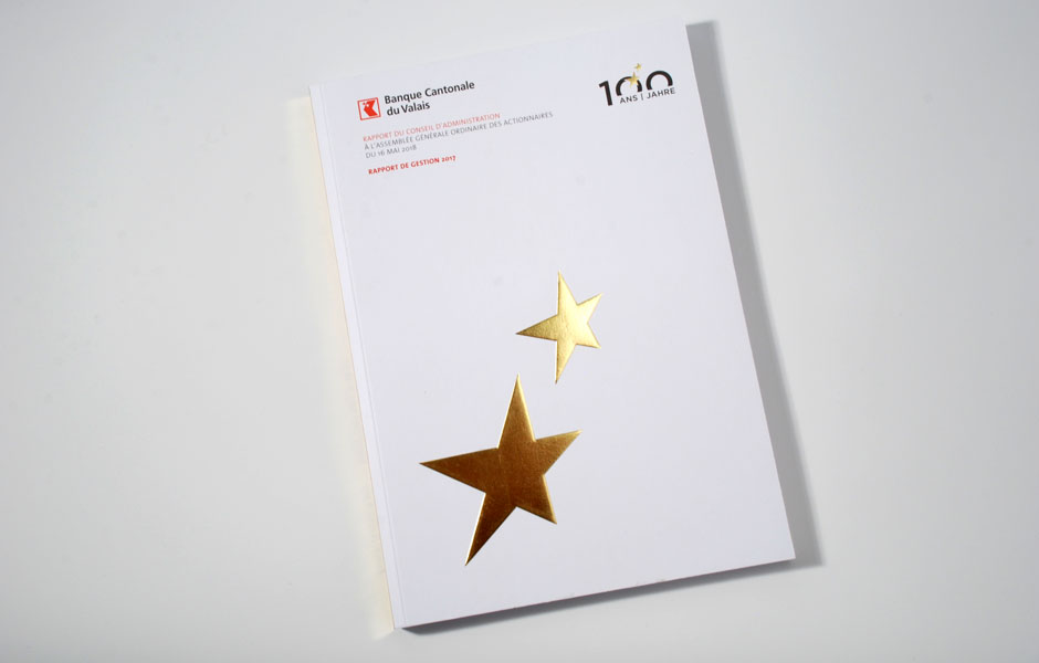 Banque Cantonale du Valais (BCVs) – Rapport annuel 2017